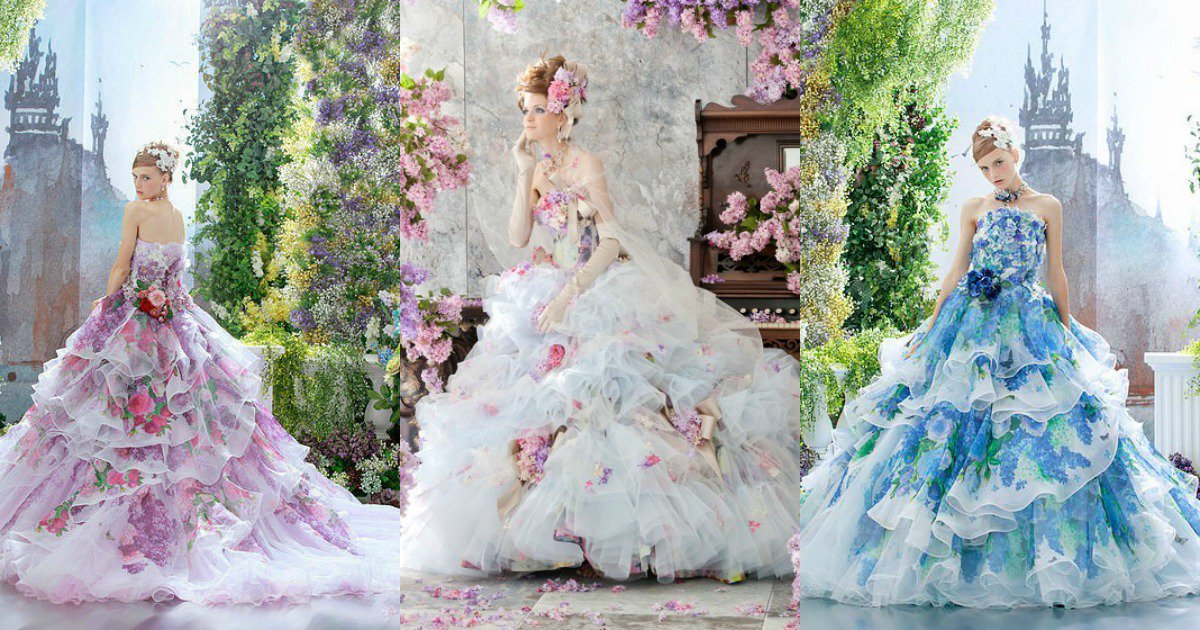 진짜 판타지에서 나오는 황족이나 왕족들, 고위 귀족들의 드레스는 스텔라 디  리베로 드레스 같지 않을까 생각한다.