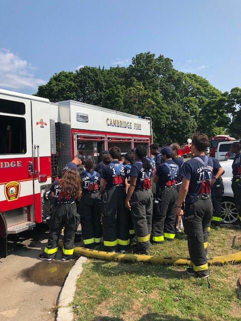 Cambridge Fire Dept On Twitter CambMA MSYEP Day 7 11