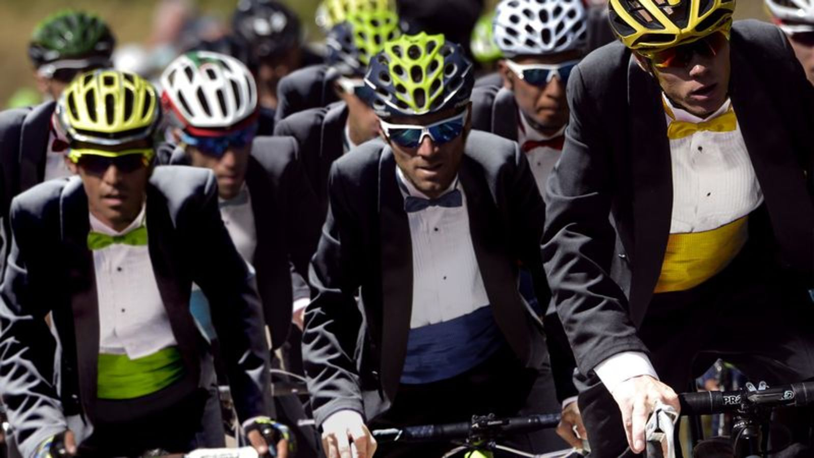 Bicyclists Begin Formalwear Stage Of Tour De France https://t.co/BVLGfwJhdP https://t.co/9pJgozXLL1