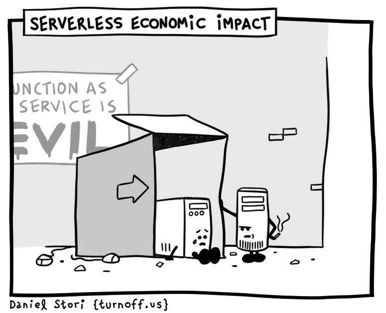 Serverless Economic Impact #comic #CloudComputing #devhumor #serverless  http:// turnoff.us/geek/serverles s-economic-impact/ &nbsp; … <br>http://pic.twitter.com/tE0cxMj0D1