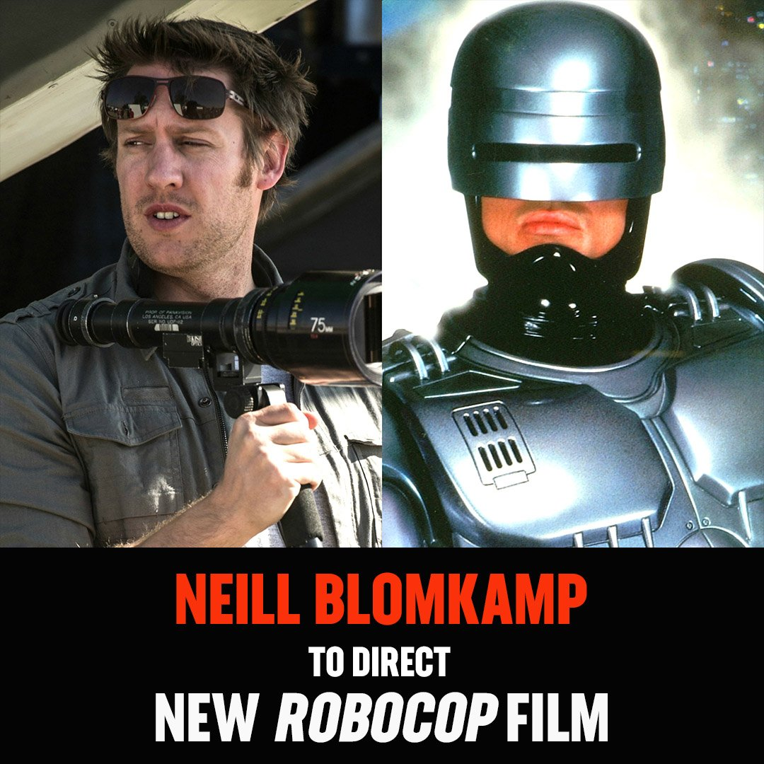 Neill Blomkamp to direct a new #RoboCop installment titled, &#39;RoboCop Returns&#39;   via @DEADLINE<br>http://pic.twitter.com/76xwHuze1c
