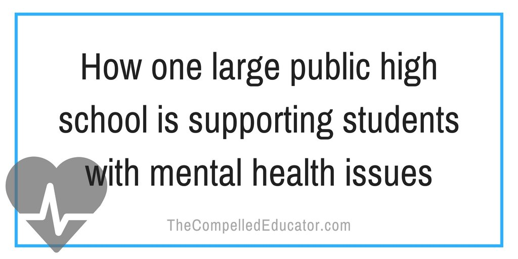 (New blog post) Today, up to 1 in 5 children experience a mental health disorder in a given year. Here&#39;s how we serve our most vulnerable students at our large public high school.  http://www. thecompellededucator.com/2018/07/how-on e-large-public-high-school-is.html &nbsp; …  #NPC18 #apoy18<br>http://pic.twitter.com/1VmsCTBwpc