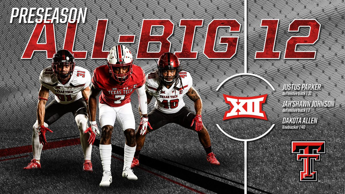 The Preseason All-Big 12 Team is here, and the #806D landed  on the squad! #ThingsHaveChanged   #WreckEm<br>http://pic.twitter.com/IliaAy7ei0