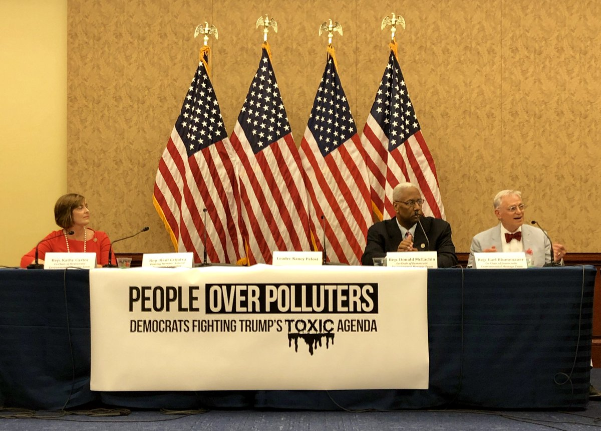 Earl Blumenauer's photo on #PeopleOverPolluters
