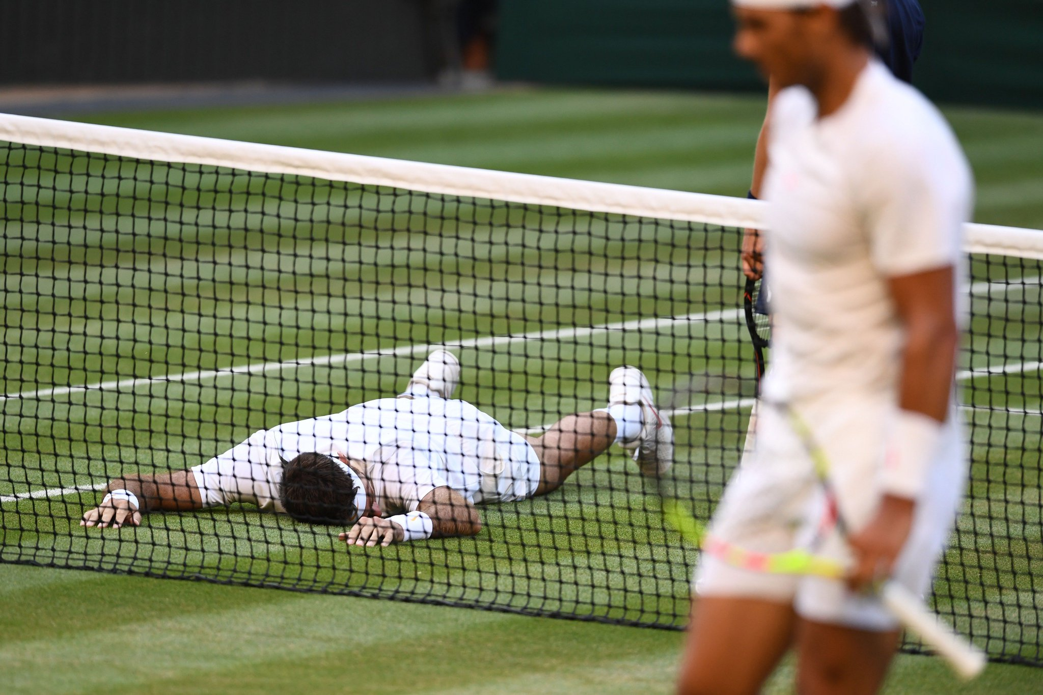 Today's roller-coaster of emotions got us like ����  #Wimbledon @delpotrojuan https://t.co/y3iYRxIXvy