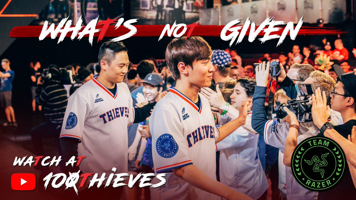 "100 Thieves on Twitter: ""From NA Academy to the international stage,  @lolLevi97 & @Brandini_LoL reflect on their performance at #RiftRivals2018."