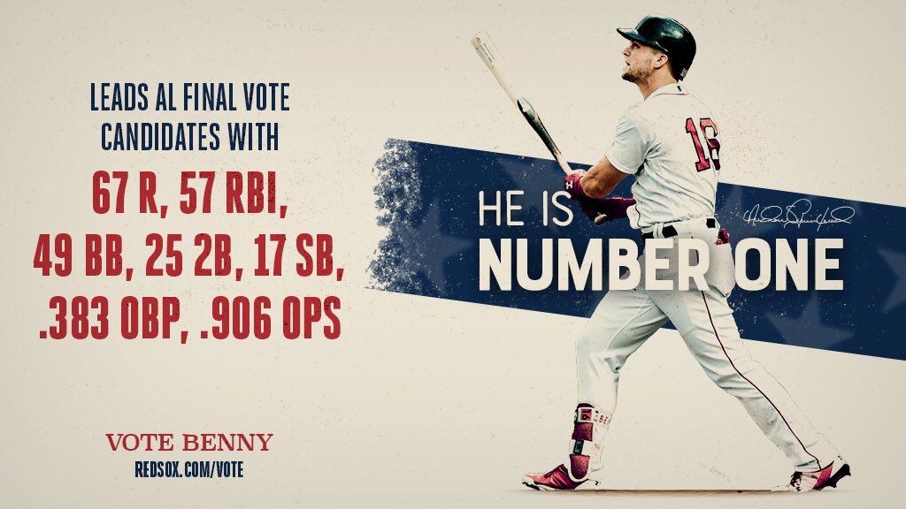 What else do you need?!  #VOTEBENNY: https://t.co/TNu271yiIB https://t.co/BY8wOR5nIZ