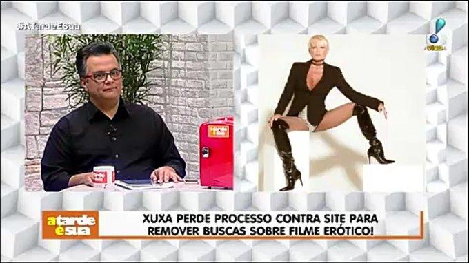 Xuxa perder processo contra site para remover buscas sobre filme erótico! #AtardeEsua Foto