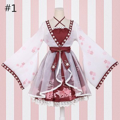68dc8160f29a Japanese Ponyo Cosplay Dress (SE11185) from #sanrense Use