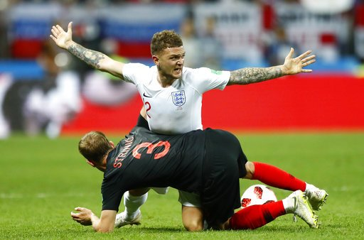 EXTRA TIME: #ENG and #CRO will need 30 more minutes to settle this. Could we see a record 5th #WorldCup game go to penalties? #ENGCRO @GDunbarAP @RobHarris @jellingworth apne.ws/n05mOXt