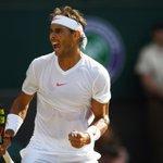 Image for the Tweet beginning: Victoire d'anthologie de Rafael #Nadal