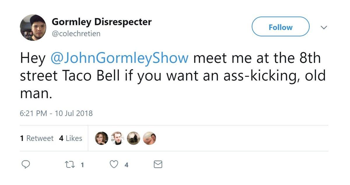 John gormley is an asshole
