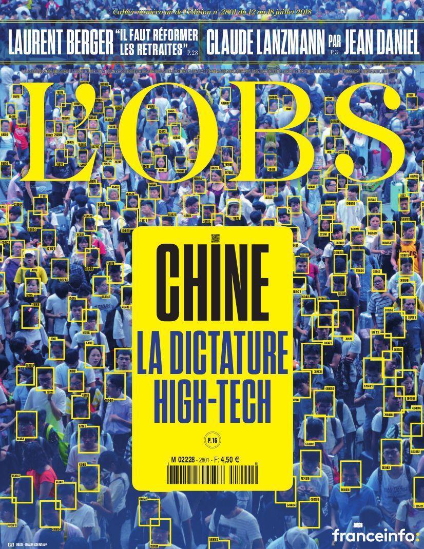 Cette semaine dans L'Obs, enquête sur la dictature high-tech de la Chine de Xi Jinping, qui s'est engagée dans un ambitieux et inquiétant projet de contrôle social bâti sur les technologies de pointe  Pour s'abonner >> https://t.co/OHYvoeQKb4