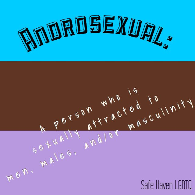 Whats androsexual
