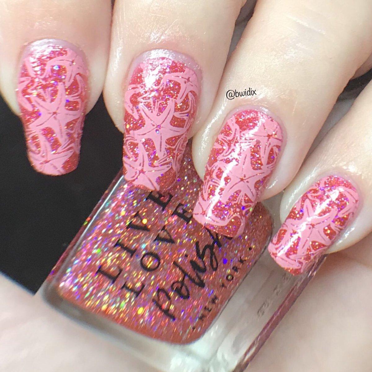 Brianne Nail Art On Twitter Starfish Nails Livelovepolish