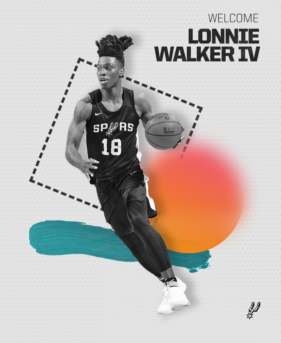 San Antonio Spurs's photo on Walker