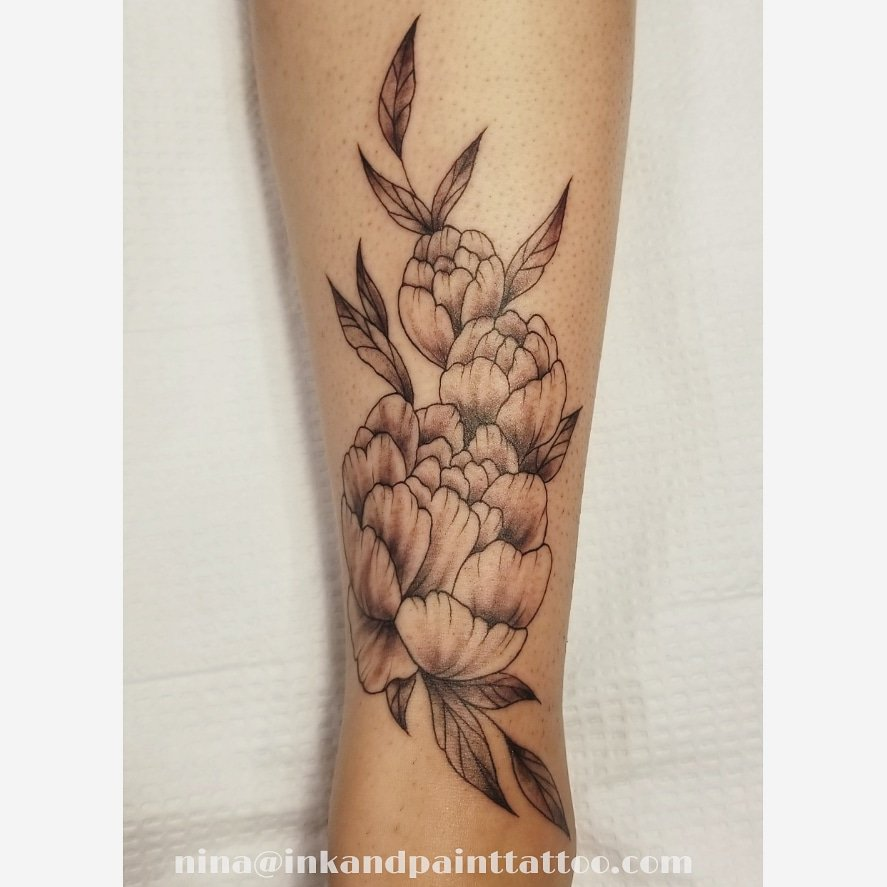 Ink And Paint Tattoo Just Did This Pretty Flower Tattoo