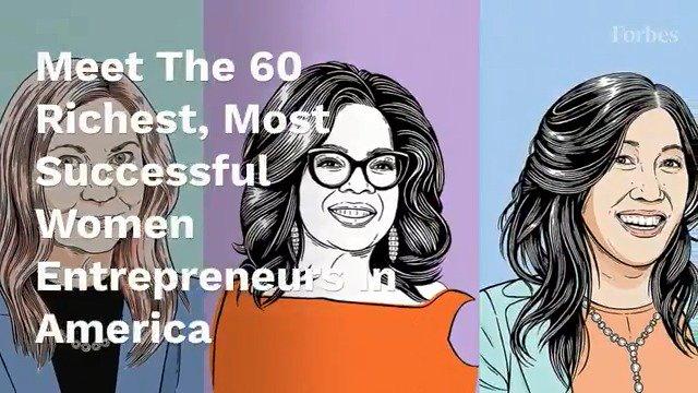 Inside America's Richest Self-Made Women measured by their net worths. https://t.co/xvQ2GzBAzc #SelfMadeWomen https://t.co/dWz0GXvQIJ