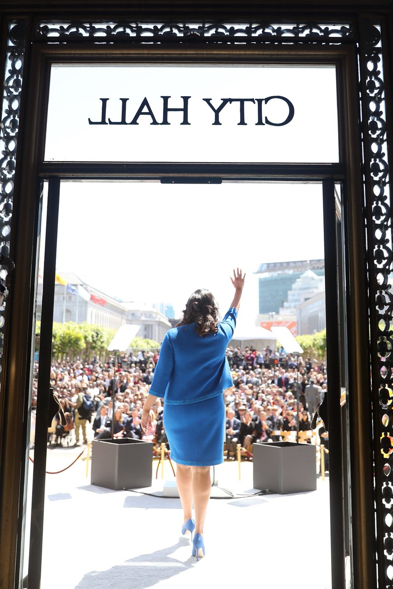 Welcome Mayor @LondonBreed, 45th Mayor of San Francisco. We look forward to serving under your leadership.