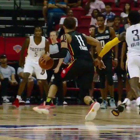 Trae Young ices the game in #PhantomCam! ❄️❄️  #NBARooks #NBASummer https://t.co/r4i9Xhx4N0