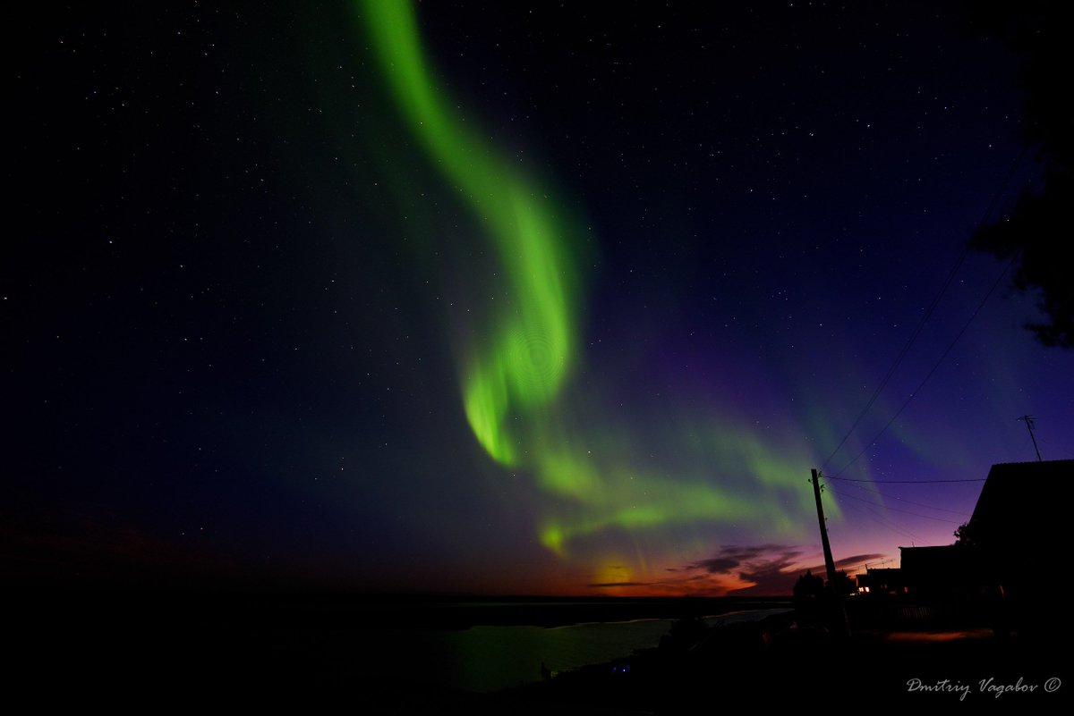 фото в северодвинске северного сияния раскрасить
