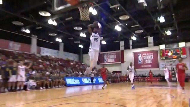 Malik Beasley defense ➡️ offense  #NBASummer on ESPN2 https://t.co/P0DncdxKVk