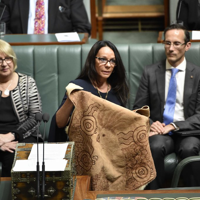 .@LindaBurneyMP is the first Aboriginal person to serve in the NSW Parliament & the first Aboriginal woman to serve in the House of Representatives. She has dedicated her life to helping others & fighting for equality #BecauseOfHerWeCan #NAIDOC2018 Photo