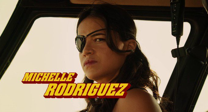 Michelle Rodríguez turns 40 today, happy birthday! What movie is it? 5 min to answer!