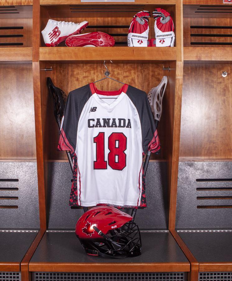 ...  CanadaLacrosse uniforms by  newbalance and  warriorlax for   2018WorldLax (photos courtesy Warrior and New Balance Lacrosse )pic.twitter.com Vugd2biWAc c52226188