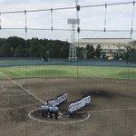 Image for the Tweet beginning: 第100回全国高等学校野球選手権記念 東千葉・西千葉大会 7月12日(木) 船橋球場  第一試合 柏陵 市川東 試合開始です。