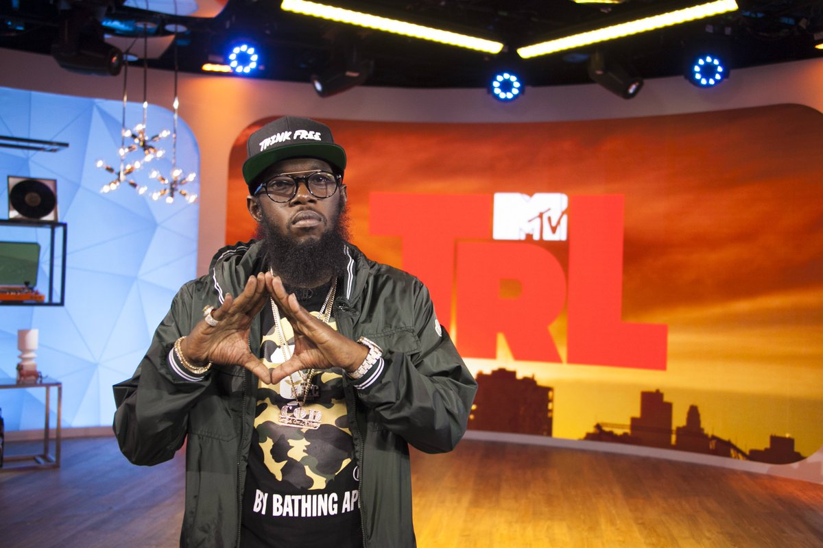 catch @phillyfreezer lighting up the #TRL stage TOMORROW @ 8am on @mtv!!!