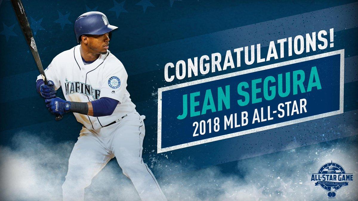 Jean Segura wins the AL Final Vote and becomes the #Mariners 4th All-Star. #SentSegura Read: atmlb.com/2KYPiJN