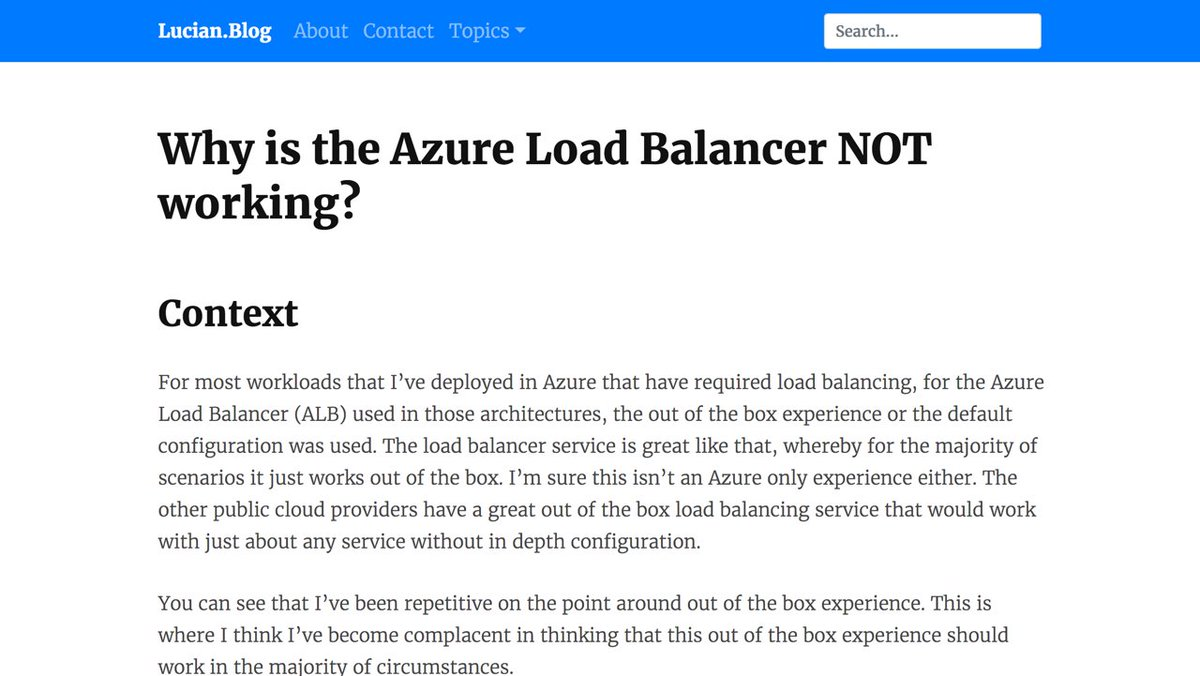 azureloadbalancer hashtag on Twitter