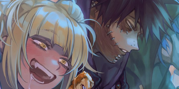 preview of my piece for @VillainTrioZine !!! it's open for pre-orders and also doing a giveaway, check it out!! 👉😙👉