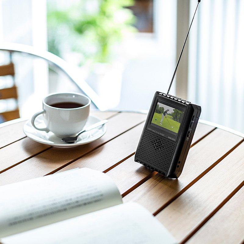 好きなときに見る・聴く自由のラジオ付きポータブルワンセグテレビ - https://t.co/oXywgx45ap #Ovo #サンワサプライ #テレビ #ラジオ #ワンセグ #小型