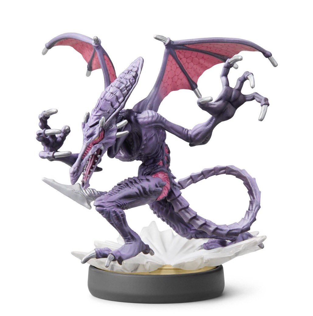 Ridley amiibo up for pre-order at Best Buy! https://t.co/BcIXvxLmHr https://t.co/NWHq33JhUu