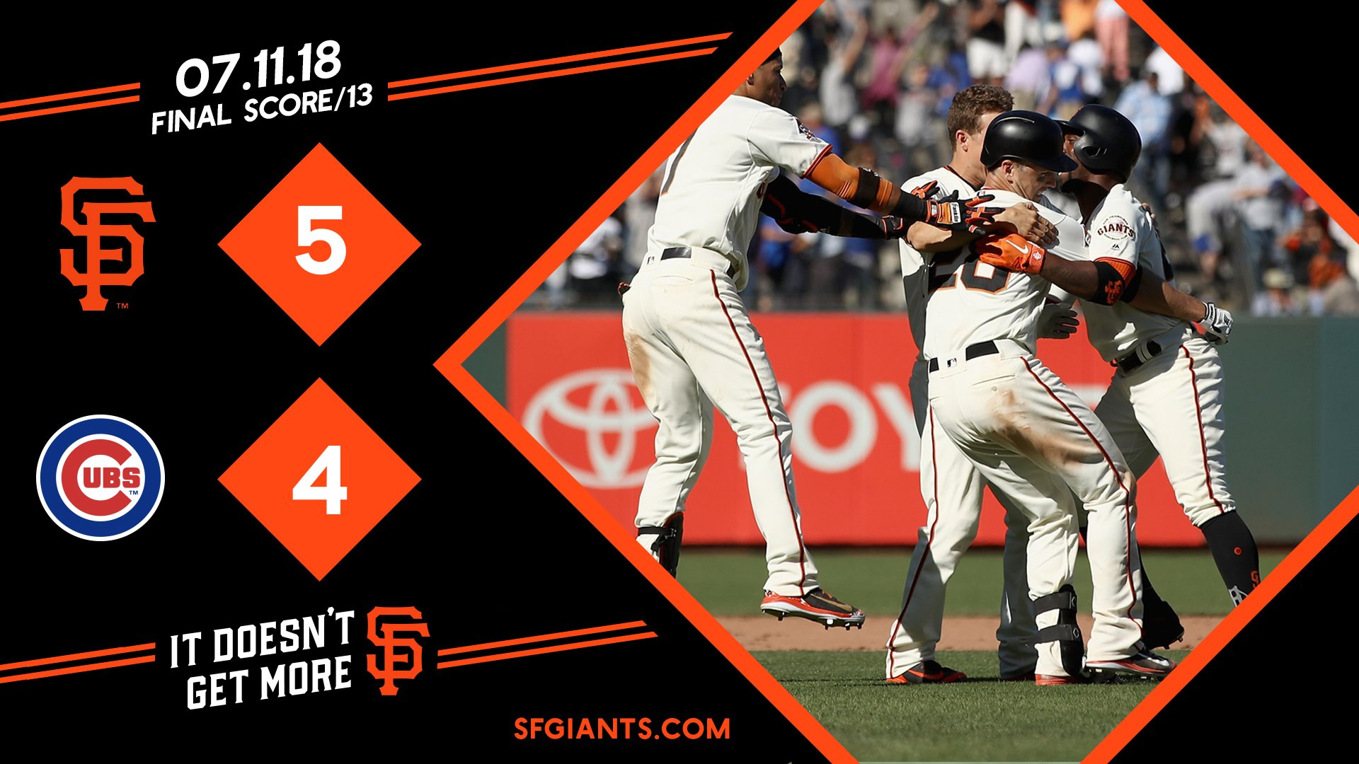 Of course it was @BusterPosey   Recap �� https://t.co/KiIgbsDH6Y   #Walkoff #SFGiants https://t.co/dJ43QZVgI0