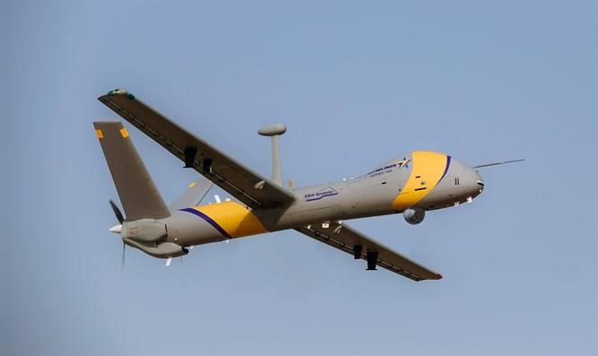 شركة Elbit Systems تكشف عن طائره Hermes 900 StarLiner المسيره الجديده  Dh4-K6uXkAYqv_t