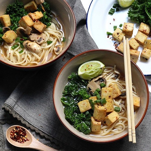 Crispy chili lime tofu udon noodle soup is on the mind 🌶️🍜 https://t.co/RofLxpbELr https://t.co/9UWWXFC16c