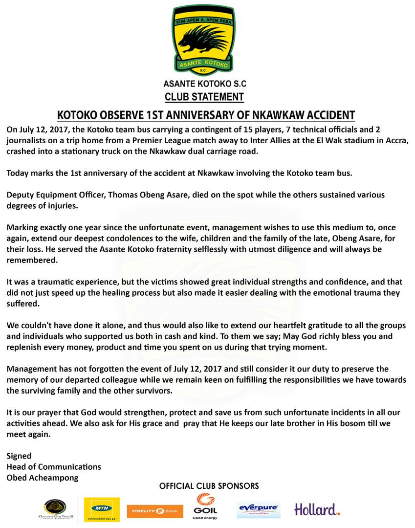 Asante Kotoko SC on Twitter: