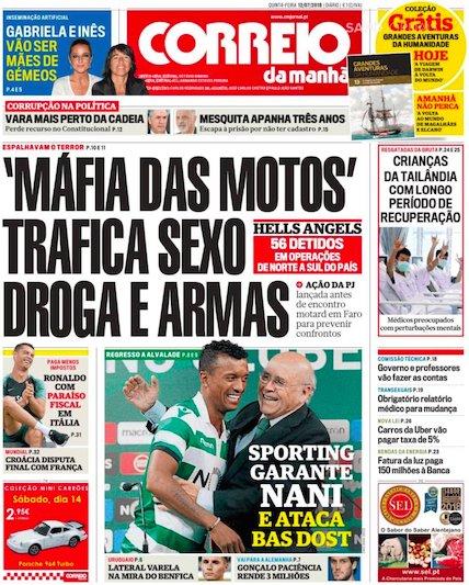 Sapo On Twitter Máfia Das Motos Trafica Sexo Droga E Armas