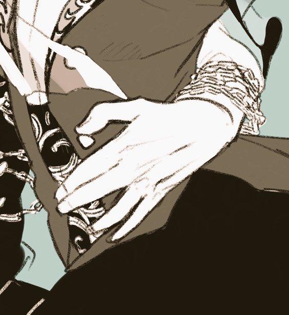 勇利くんに触れるヴィクトルの手はいつだって雄だしヴィクトルに触れる勇利くんの手は婀娜っぽく寄り添う妻…と思いながら描いた