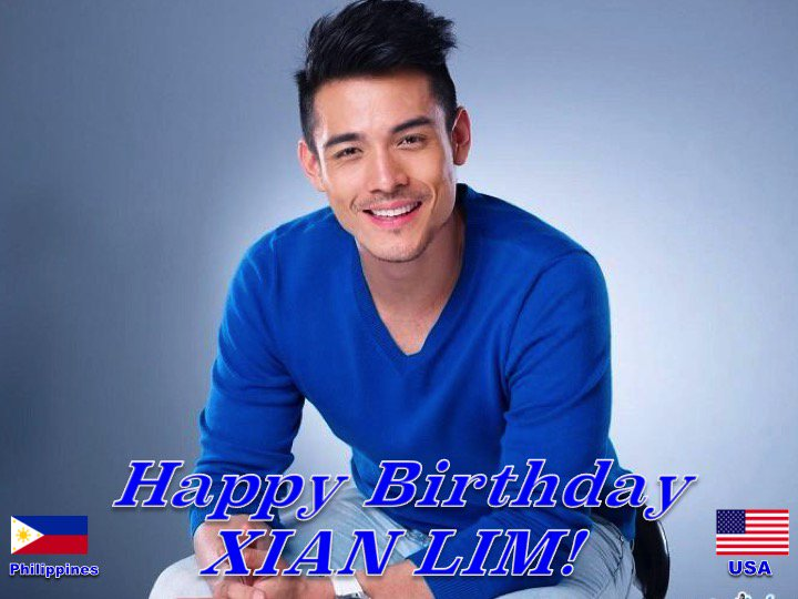 Happy 29th Birthday to the very talented #XianLim! @XianLimm  👏🇵🇭🇺🇸🎶🎤🎂🎉🎁🎈😍🌟💫🎇