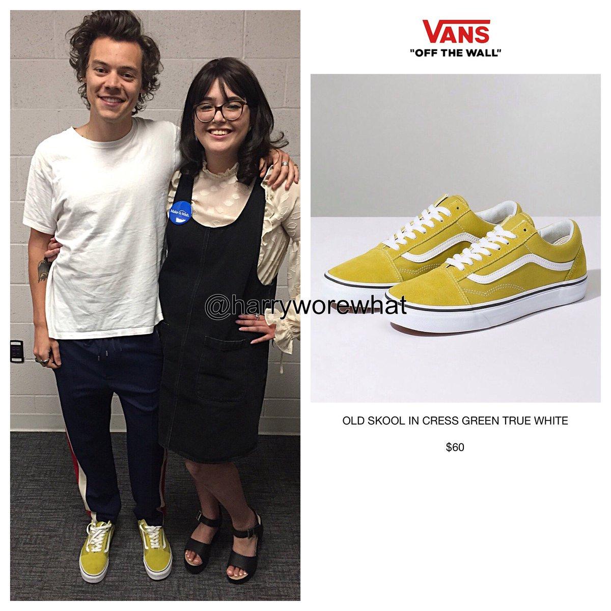 Harry wore $60 #Vans