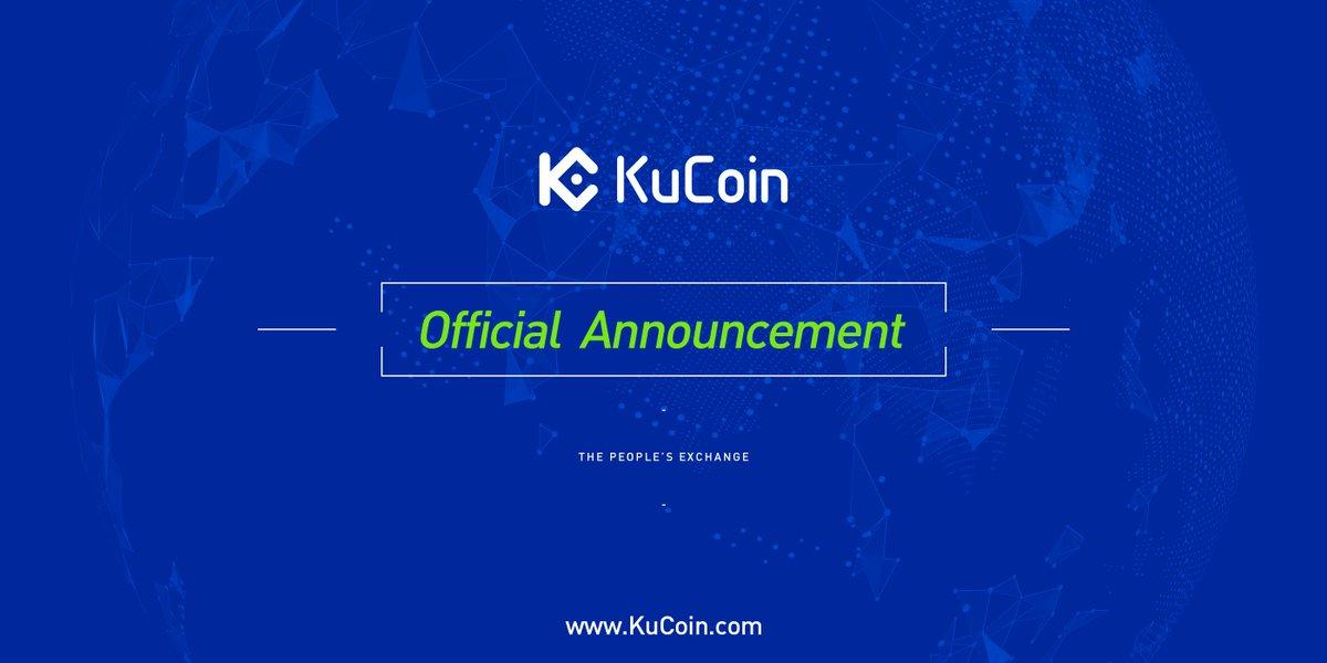 Kucoin on twitter kucoin plus trading area see the official kucoin on twitter kucoin plus trading area see the official announcement here httpstoxwswexsxs malvernweather Gallery