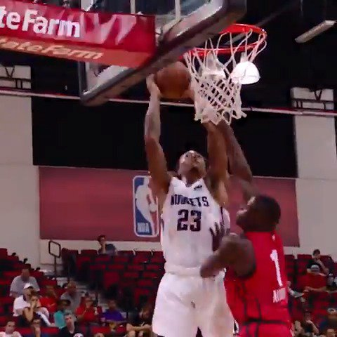 Emmanuel Terry rocks the rim in #PhantomCam!  #NBASummer https://t.co/MOumf03AUH