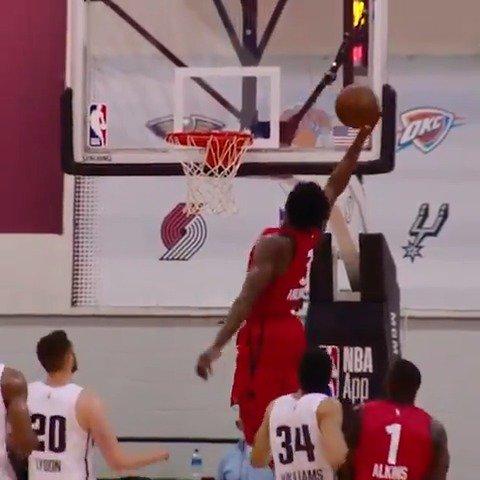 OG slam in #PhantomCam!  #NBASummer https://t.co/clCBUDlYOC
