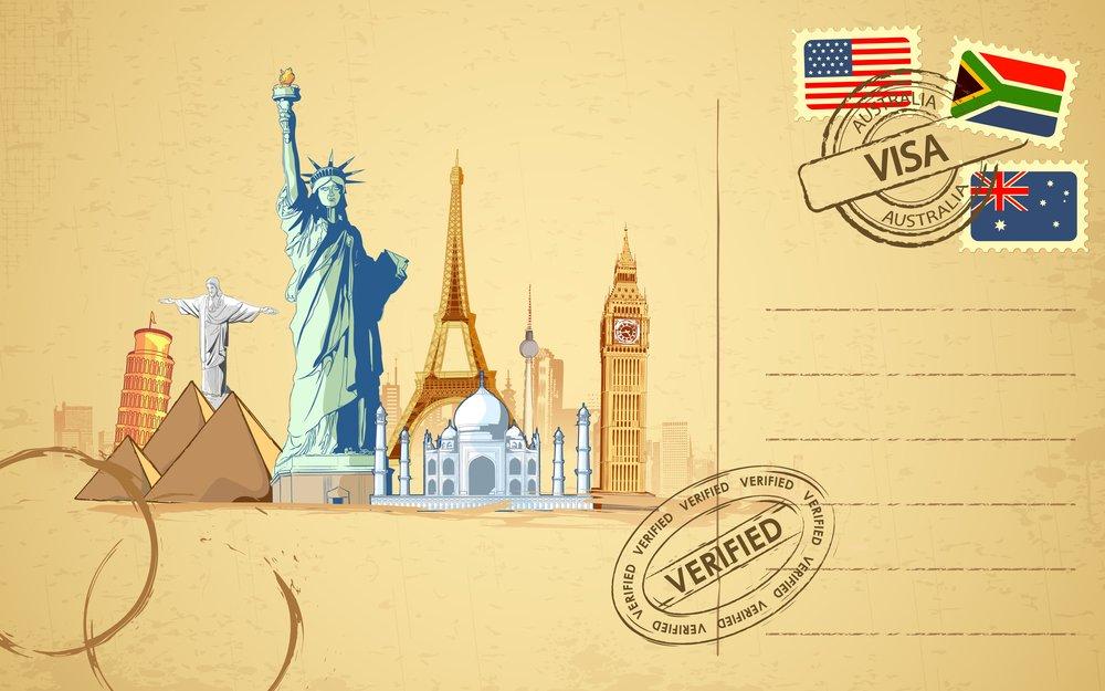 Приглашение день, открытки из путешествий шаблоны