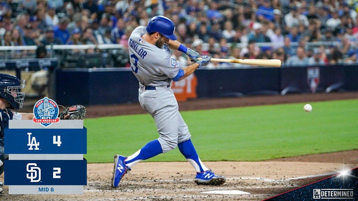 Two-out insurance! #Dodgers https://t.co/zT8uSHvMqs