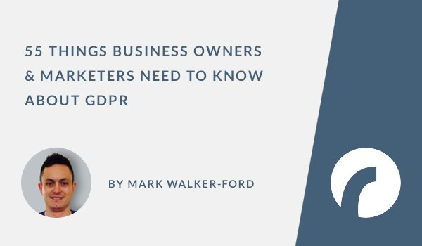 55 Things Business Owners & Marketers Need to Know About GDPR:  https://t.co/vQLAq26GB5  #WebDesign https://t.co/q9Ws0XT0W6